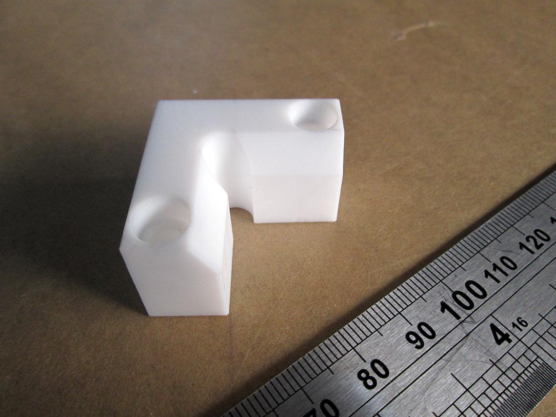 CNC chi tiết bằng Teflon