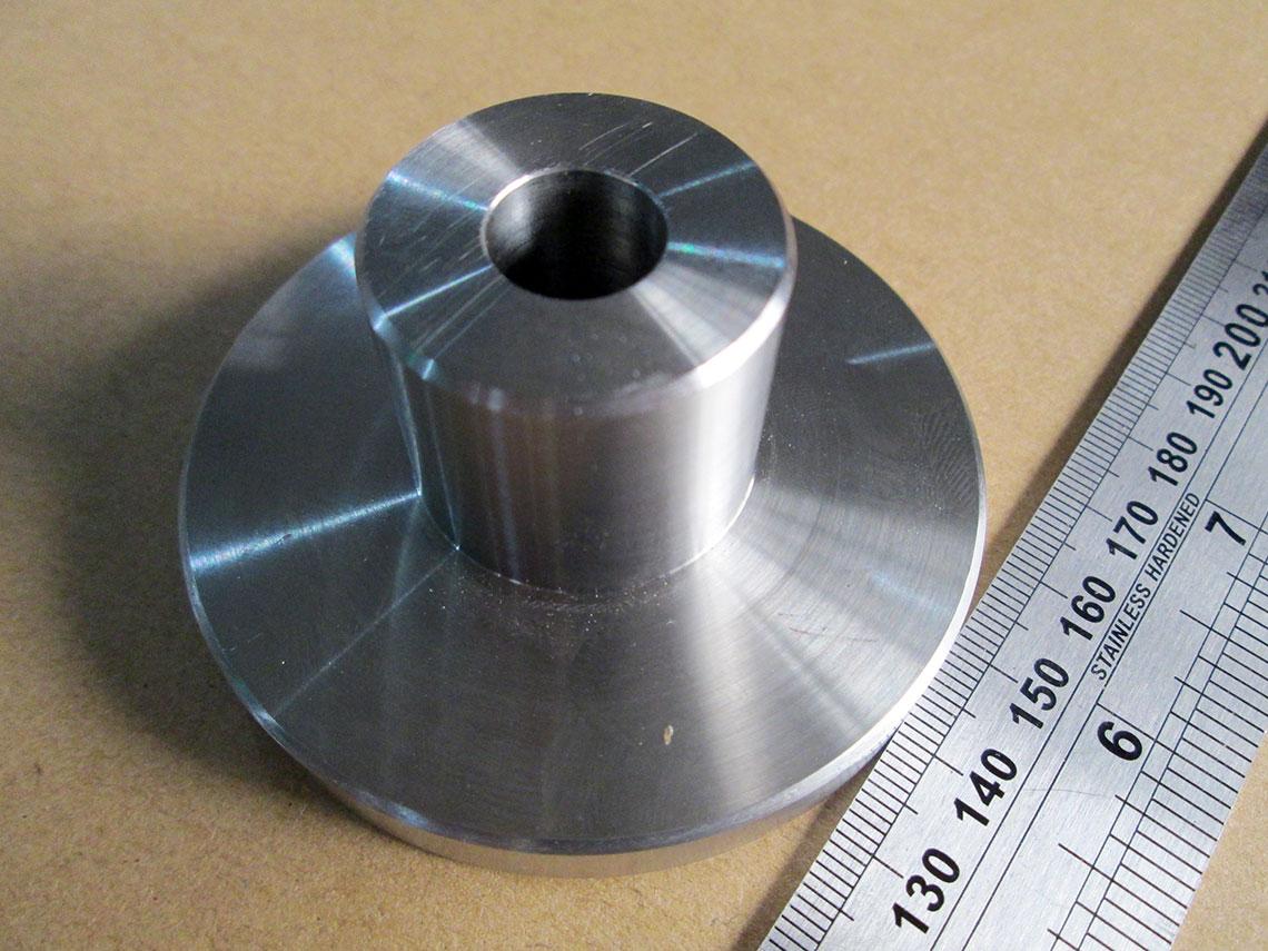 CNC chi tiết trụ 3D