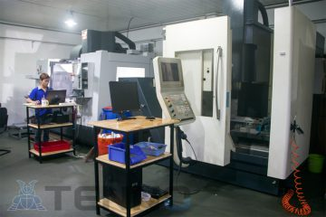 CNC machine DMG DMC 635V precision machining